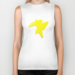 Abstract Re-Created Painting in Space Biker Tank