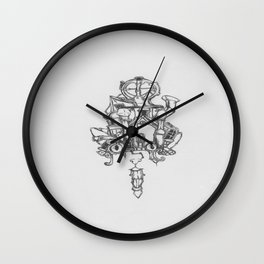 House of cats  Wall Clock