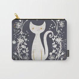 abstract kitty Carry-All Pouch