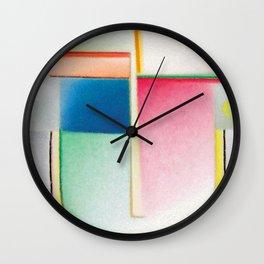 Alexej von Jawlensky - Abstrakter Kopf Inneres Schauen - Abstract Head Inner Vision Wall Clock