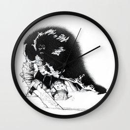 old ass conan Wall Clock