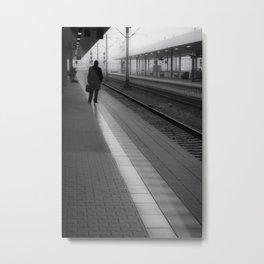 Mannheim Train Station (vertical) Metal Print