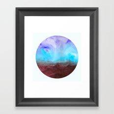 Gathering Your Storm Framed Art Print