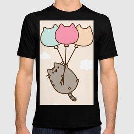 Cat Flying T-shirt