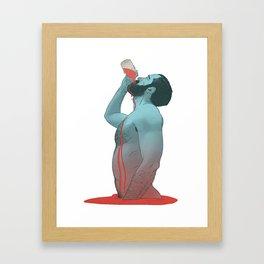 IMMORTAL BLOOD Framed Art Print