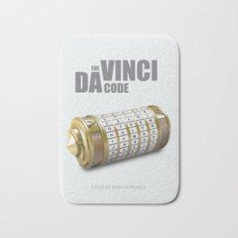 The da Vinci Code - Alternative Movie Poster Bath Mat