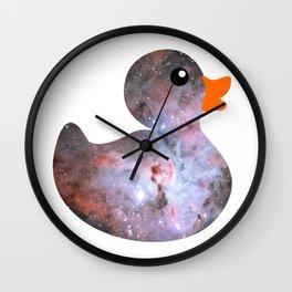 Deep Duckie Wall Clock