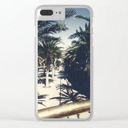 Downtown Aruba Clear iPhone Case