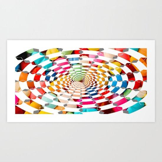 Candy Drug Art Print