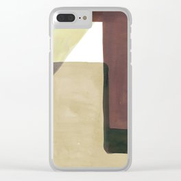 Tetra in Earth Clear iPhone Case