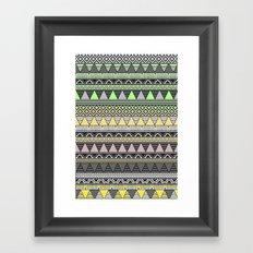 CELADON & HANSA YELLOW Framed Art Print