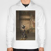 egypt Hoodies featuring Egypt temple  by nicky2342