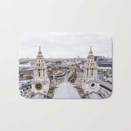 City View over London from St. Paul's Cathedral Bath Mat