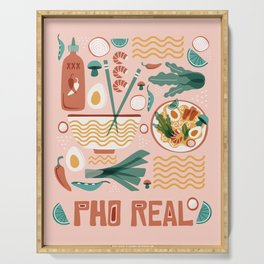 Pho Real Serving Tray