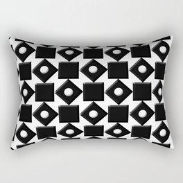 Monochrome Fantasy IV Rectangular Pillow