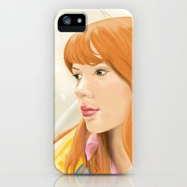 Lost In Translation - Charlotte iPhone Case