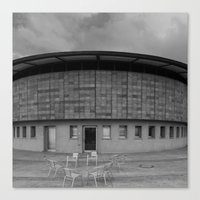 building Canvas Prints featuring Building by Frankpeti