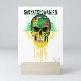 To The Core Collection: Saskatchewan Mini Art Print