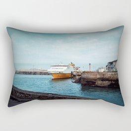 MV Côte d'Albâtre at Dieppe Rectangular Pillow