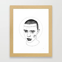 Skinhead 1 Framed Art Print