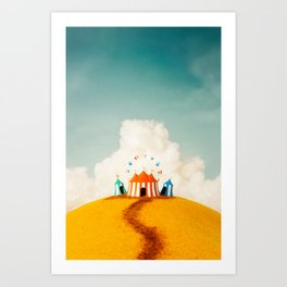 Carnival in a small Package Art Print
