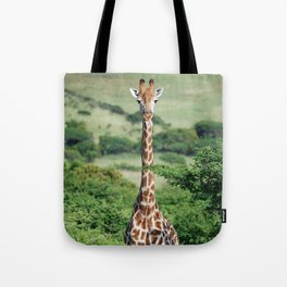Giraffe Standing tall Tote Bag