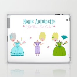 Marie Antoinette - Let Them Eat Cake Paper Dolls Laptop & iPad Skin