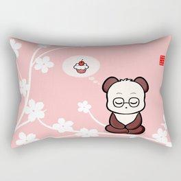 Panda's Attachment Rectangular Pillow