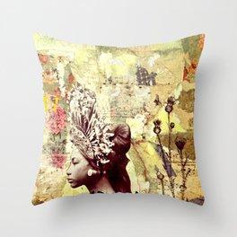 Seeking Serenity Throw Pillow