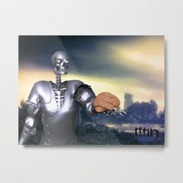 Hamlet Science-Fiction Metal Print