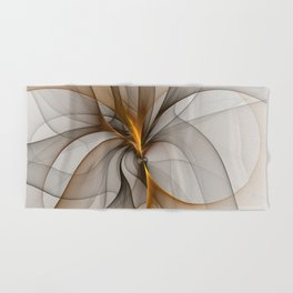 Elegant Chaos, Abstract Fractal Art Hand & Bath Towel