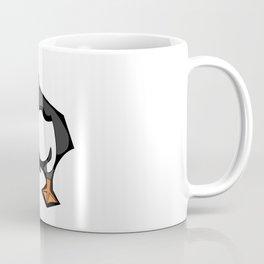 Puffin Goes For A Walk   Animal Series   DopeyArt Coffee Mug