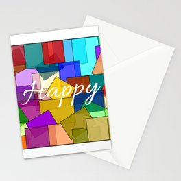 Happy Stationery Cards