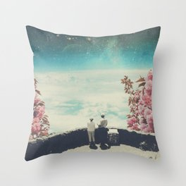 You Know we'll meet Again Throw Pillow