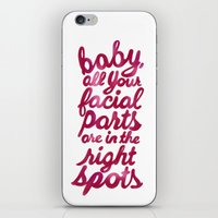 psych iPhone & iPod Skins featuring psych valentine by Taylor Jean