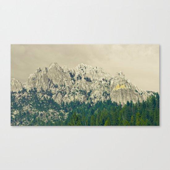 Castle Crags - California Canvas Print