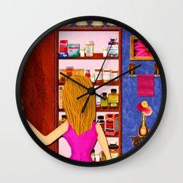 Overmedication Wall Clock