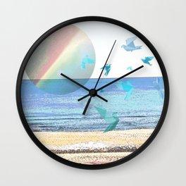 CHASING DOWN A DREAM Wall Clock