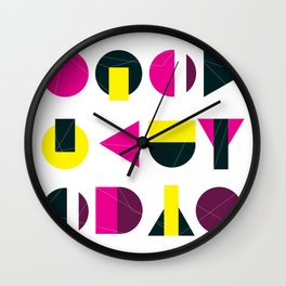 rasberry and lemon with litlle darkness Wall Clock