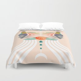 Alchemical Metamorphosis Duvet Cover