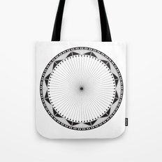 Circle Pattern 228 Tote Bag