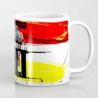 ali gulec Mugs featuring Muhammed Ali by Genco Demirer