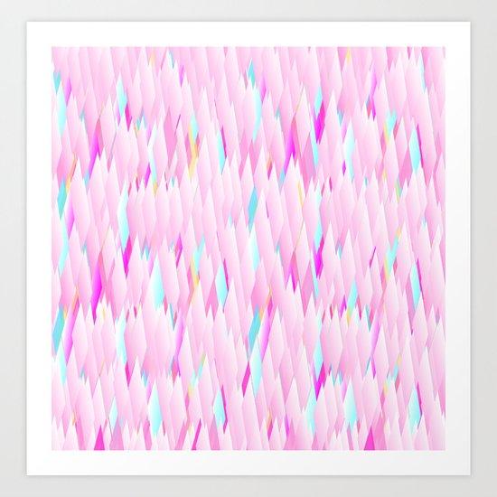 Totally Pink Art Print