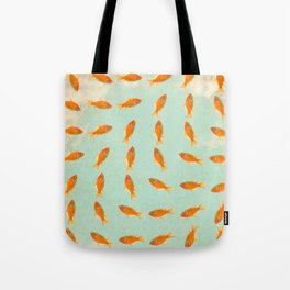 pattern goldfish Tote Bag