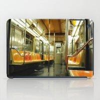 subway iPad Cases featuring Subway by Bryan McKinney