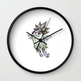 Moon Flea Wall Clock