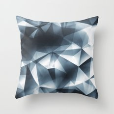 Abstract Cubizm Charcoal Drawing Throw Pillow