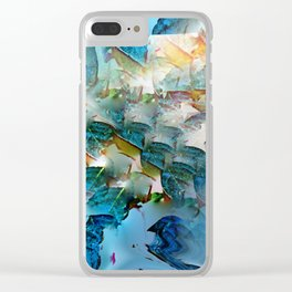Leafing through Clear iPhone Case