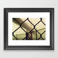 Rusty Framed Art Print