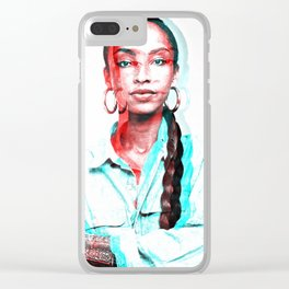 Lovely Sadie Clear iPhone Case